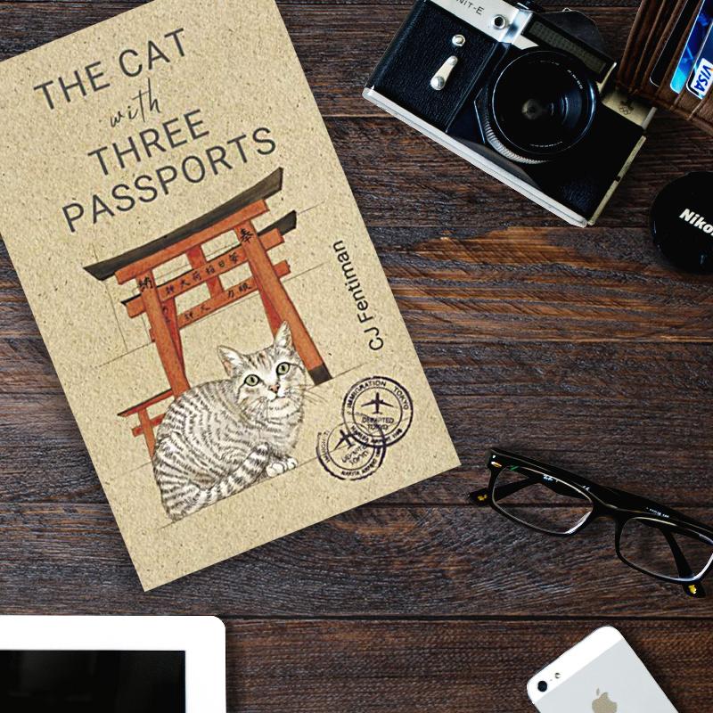 洋書表紙猫イラスト365cat.art